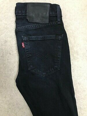 Levis 519 Extreme Skinny Stretch Denim Jeans Mens W28 L32 Dark Blue  • 0.99£