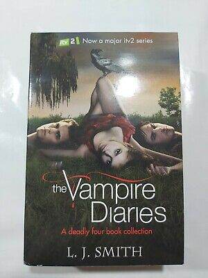 Vampire Diaries Books 1-4 Boxed By L J Smith (Paperback) • 12£
