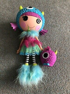 Large Lalaloopsy Doll - FURRY- GRSS - ALOT Excellent Condition RARE • 11.99£