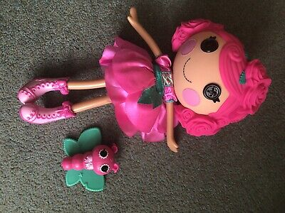 Large Lalaloopsy Doll  ROSEBUD-LONG-STEM Excellent Condition • 11.99£