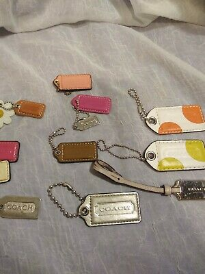 $ CDN10.12 • Buy  Lot Of 10 Coach Replacement Keyfobs/charms For Coach Handbags In Good Condition