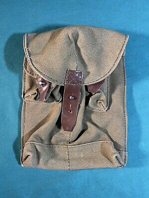 $19.95 • Buy Vintage Russian Soviet Military Ammo Bag Case Ammunition Pouch