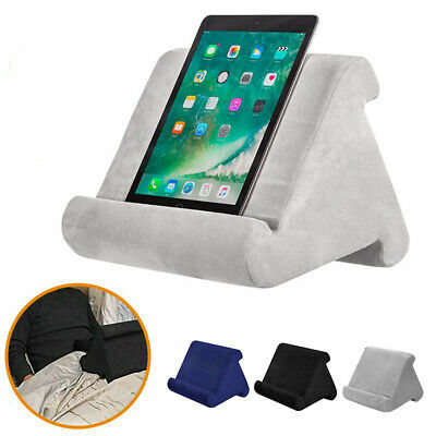 AU13.49 • Buy Tablet Pillow Stands For IPad Book Reader Holder Rest Laps Reading Soft Cushion