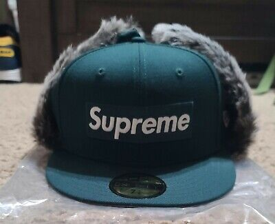 $ CDN75.10 • Buy Supreme X New Era Earflap Fitted Hat Size 7 1/8