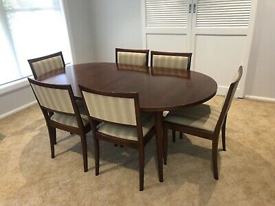 AU400 • Buy Parker Brand Extendable Dining Table And 8 Chairs