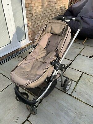 ICandy Cherry Pushchair & Carrycot In Toffee Fudge • 23£