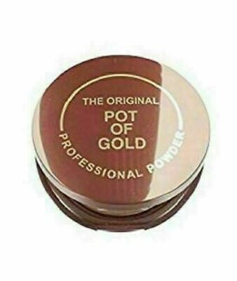 ORGINAL POT OF GOLD Compact Pressed Bronzing Powder Face & Body Snkissed Look • 3.99£