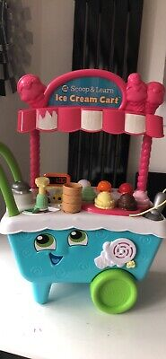 LeapFrog Scoop & Learn Ice Cream Cart, Used, Very Good Condition. • 15£