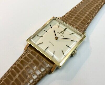 Gents' Vintage Omega De Ville Movement Gold Plated Strap Watch • 87£
