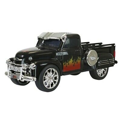 $ CDN58.44 • Buy QFX 1953 Chevy On The Go LED + Sound Bluetooth Wireless USB Double Speaker Black