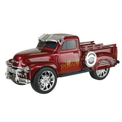 $ CDN58.44 • Buy QFX 1953 Chevy On The Go LED + Sound Bluetooth Wireless USB Double Speaker Red