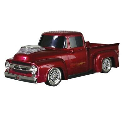 $ CDN57.64 • Buy QFX 1956 Ford On The Go LED + Sound Bluetooth Wireless USB Double Speaker Red