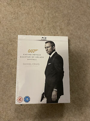 Daniel Craig - Collection (Blu-ray, 2013, 3-Disc Set, Box Set) Brand New In Box • 2.50£