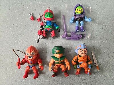 $49.99 • Buy Masters Of The Universe 3'' SET LOT OF 5 Trap-Jaw Skeletor MOTU Loyal Subjects
