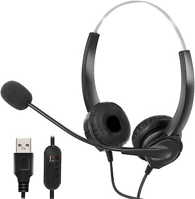 AU26.94 • Buy Wired Stereo Micphone Gaming Headphone Gaming Headset Earphone With Mic