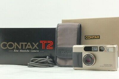 $ CDN1638.85 • Buy [Almost Unused In BOX] Contax T2 35mm Film Camera + Case + Strap From JAPAN