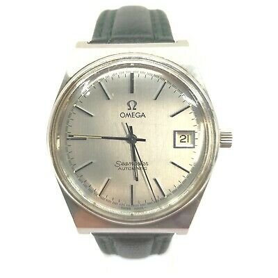 AU7.10 • Buy Omega Watch  166.0203 Seamaster Date  Operates Normally 1907069