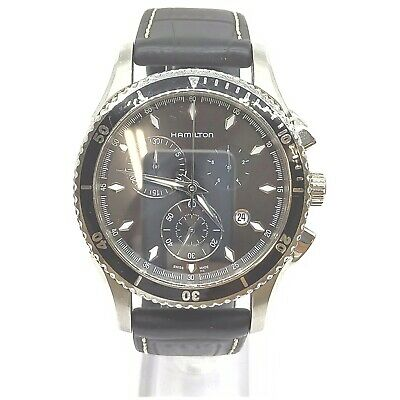 AU33.58 • Buy Hamilton Watch  H375120 Lazz Master Chronograph Operates Normally 1907221