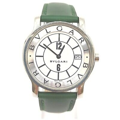AU12.27 • Buy Bvlgari Watch  ST35S Solotempo Good Condition 1907149