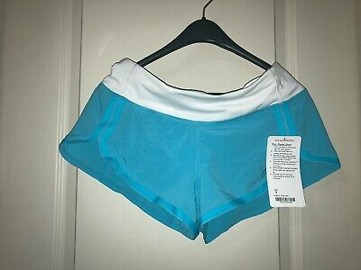 $ CDN30 • Buy Brand-new With Tags: Vintage Lululemon Aqua Dolphin Shorts - Size 8