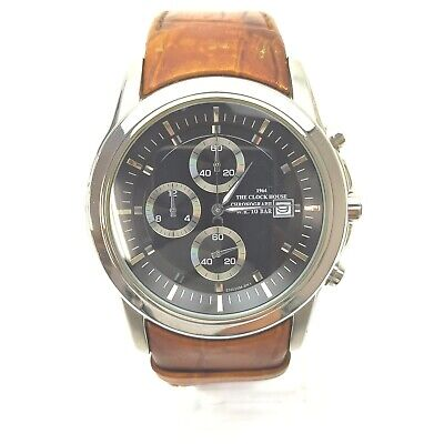 AU37.46 • Buy House Watch CH020M Chronograph Operates Normally 1807023