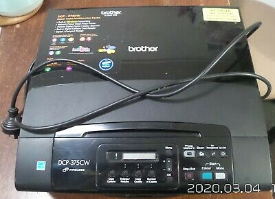 AU70 • Buy Brother DCP-375CW WiFi Printer With Build-in Scanner