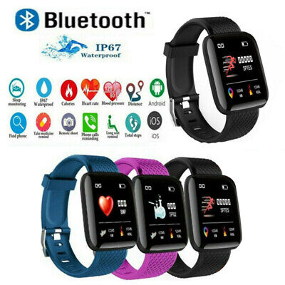 AU16.99 • Buy Smart Watch Band Sport Activity Fitness Tracker For Kids Fitbit Android IOS