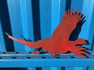 £26.70 • Buy Red Pheasant Metal Garden Home Shop Sign Feature Ornament Decoration Statue