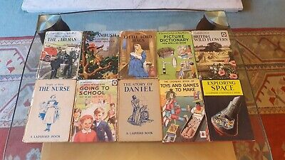 10 X Vintage Ladybird Books Job Lot Bundle • 2.50£