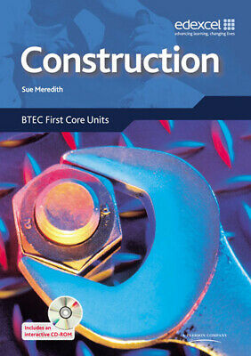 £3.31 • Buy Construction: BTEC First Core Units By Ms Sue Meredith (Multiple-item Retail