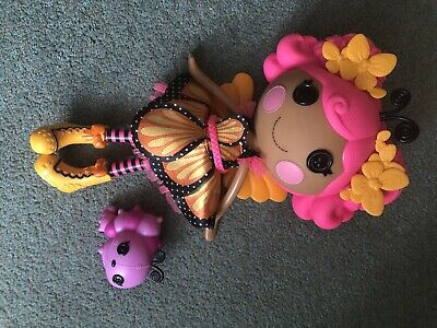 Large Lalaloopsy Doll  MONA ARCH WINGS Excellent Condition • 11.99£