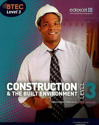 £13.68 • Buy BTEC Level 3 National Construction And The Built Environment Mike Hurst