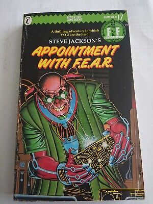 AU14.38 • Buy Appointment With F.E.A.R Steve Jackson 17 FIGHTING FANTASY