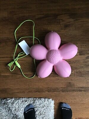 IKEA SMILA BLOMMA 14  Pink Flower NIGHT WALL LIGHT LAMP Girls Bedroom Decor  • 10.73£