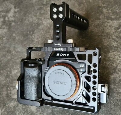 AU1083.52 • Buy Sony Alpha 7S A7S Mark I Digital Camera Body With Smallrig Cage And 13 Batteries
