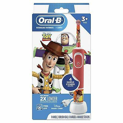 AU20.67 • Buy Oral-B Kids Electric Toothbrush Featuring Disney Pixar Toy Story For Kids 3+ NEW