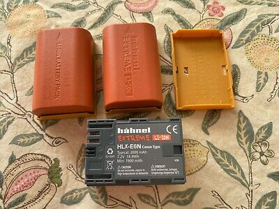 Hahnel HLX-E6N Extreme 2000mAh Li-Ion Rechargeable Battery For Canon Type LP-E6N • 50£