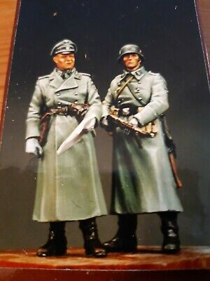 1/35 El Viejo Dragon  German WWII Elite Soldiers In Great Coat  No Verlinden No • 8.64£