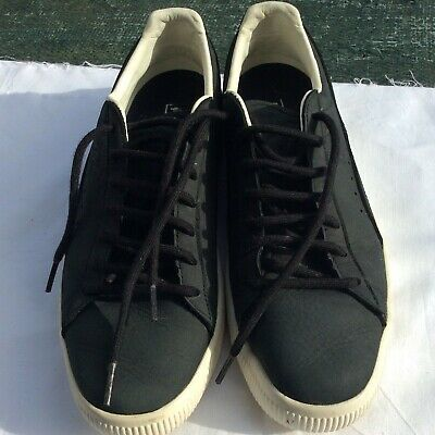 Puma Clyde Men's Leather Trainers Size 9.5 • 12£