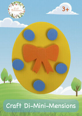 £4.99 • Buy Easter Egg Craft Foam Handmade Card Kit For Young Children. Makes 5. Age 3+