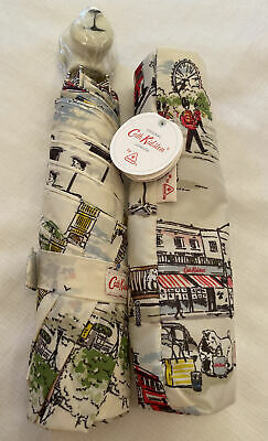 £24.95 • Buy Cath Kidston Minilite Umbrella Billie Goes To Town With Billie Dog Handle New