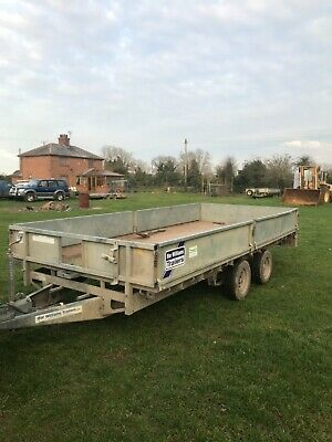 Ifor Williams 14 Ft Trailer With Sides • 1,895£