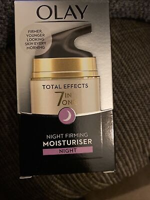 AU9.03 • Buy  Olay Total Effects 7 In One - Night Firming Cream Moisturiser - NEW