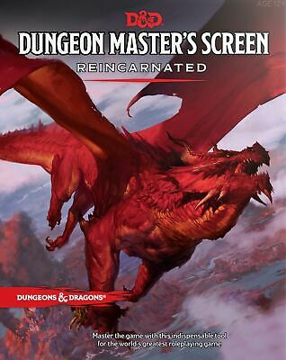 AU31.09 • Buy Dungeons & Dragons Dungeon Masters Screen Reincarnated Board Game