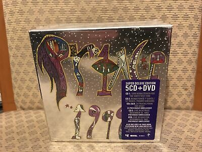 Prince 1999 Super Deluxe Remastered 5CD/LIVE DVD+Book Box Set New Sealed Look@@ • 120£