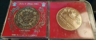 HRH Prince Charles And Lady Diana Spencer Wedding Coin • 20£