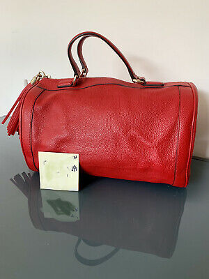AU850 • Buy Gucci Soho Boston Bag In Red Leather