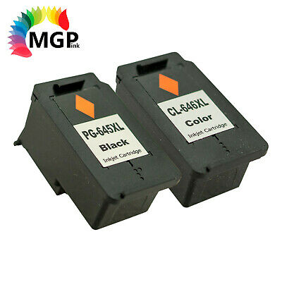 AU49.95 • Buy Compatible BK Color PG 645XL CL 646XL Ink Cartridge Cannon MG2965 MG2960 MG3060