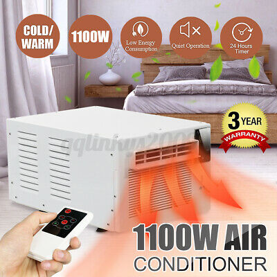 AU228.50 • Buy 1100W Heating Heater Electric Window Air Conditioner Refrigerated Cooler Remote