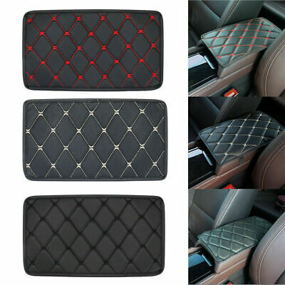 £5.16 • Buy Auto Armrest Pad Cover Center Console Box PU Leather Cushion Mat Car Accessories